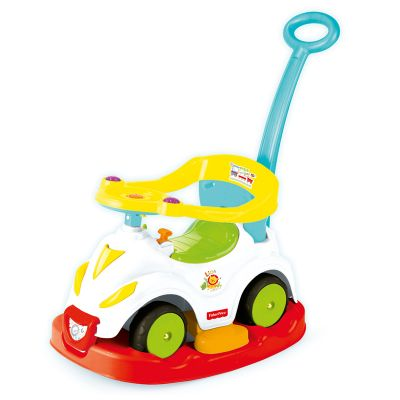 4-in-1 Riding To Walking Mickey Mouse Car