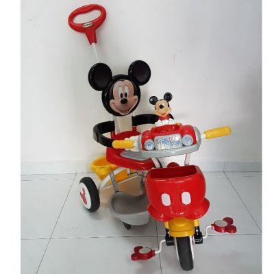 Mickey Mouse Push Tricycle